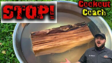 Photo of DONT SOAK BBQ WOOD!!!