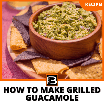 How To Make Grilled Guacamole